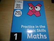 Collins basic Skills Maths Ages 7-11 ISBN - 9780007177196