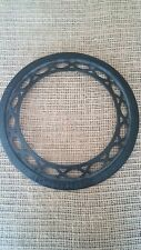 Antique Cast Iron Stove Pipe Vent Ring Made By The Adams Co Dubuque Iowa