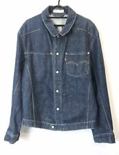 Levis Engineered Denim Jacket Size L Blue Great Condition Fast Shipping