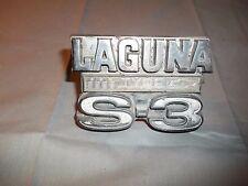 Chevrolet Chevelle 1974 Chevy Laguna Type S-3 Grille Emblem