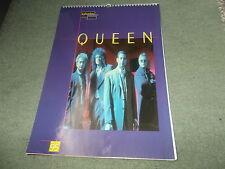 Original Vintage 1995 QUEEN Calendar Music Rock Band Memorabilia Freddy Mercury