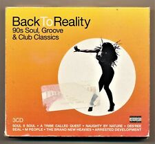 Back to Reality CD 90's Soul Groove and Club Classics