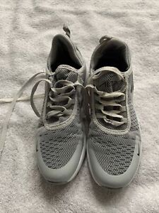 grey trainers size