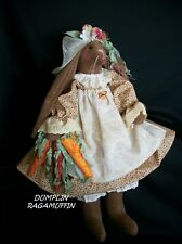 Pattern, Primitive doll,sewing, 22 in. bunny,by Dumplinragamuffin #262