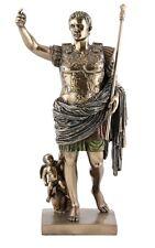 Veronese Bronze Figurine Ancient Celebritie Julius Caesar Augusta of Prima Porta