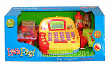 Lets Play Electronic Store / Cash Till Register +  Accessories Microphone Toy