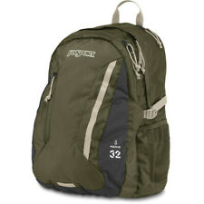 New With Tags Authentic Jansport Agave School Laptop Bag Backpack Green