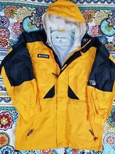 Columbia Sportswear Tectonite Hoodie Parka Jacket Mens S Small Windbreaker 90s