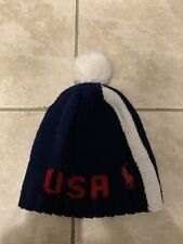 Polo Ralph Lauren United States Olympic Paralympic Team USA-2018 Wool Beanie Hat