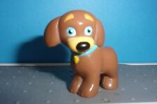 "Viacom Dora The Explorer PVC Brown Dog Puppy Mini Figure 1.5"" Cake Top PERRITO"