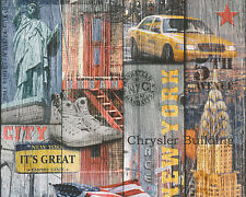 1,49 €/qm / A.S. Creation 30170-1 / New York / Tapete City / AS Creation 301701