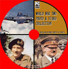 9000+ HISTORIC 2nd WORLD WAR IMAGE + FILM COLLECTION PC DVD NEW WWII PHOTO SETS