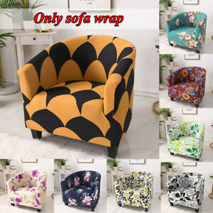 Stretch Bathtub Armchair Cover Sofa Washable Furniture Slipcover HotelSeat Cover