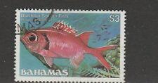 Bahamas 1986 Fish No imprint $3 VFU/CTO SG 771a