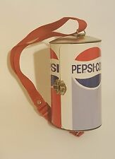 Vintage Pepsi Purse Bag Case Lunchbox metal tin Pepsi Cola Soda Pop Can