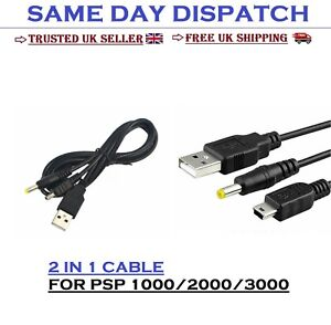 2 in 1 USB DATA TRANSFER CABLE FOR PSP 2000/3000 TO PC