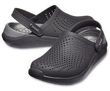 Mens Crocs Literide Black Clog Closed Toe Slip On Comfort Insole Wide Fit Sandal