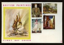 GB FDC 1968 British Paintings Bournemouth FDI