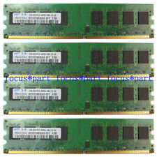 New Samsung 8GB 4X2GB PC2-6400 DDR2-800MHz 240pin DIMM Desktop Memory RAM