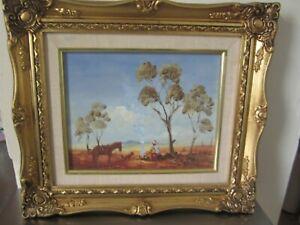 """Johannes Karl Schulz """"John John"""" Listed Artist. Framed Oil Painting."""