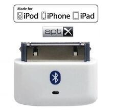 KOKKIA i10s + aptX (Luxurious White) Tiny Bluetooth iPod Transmitter for iDevice