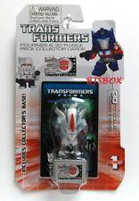 StarScream #9 Series 1 Transformers Figurine & 3D Puzzle Collector Card New