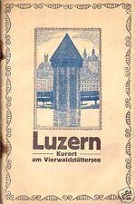 Lehmann, R.; Lucerna-balneario el vierwaldstättersee, pequeño líder, 1922