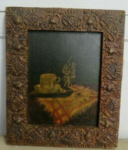 Lovely Oil on Board Still Life Framed Painting