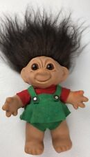 Vtg LYKKETROLL GIRL TROLL doll 9 inches tall Made Denmark 1950's Very Rare