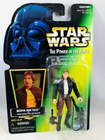 Star Wars The Power of the Force Bespin Han Solo Action Figure