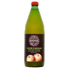 Biona bio Vinaigre de cidre avec la mère 750 ml non filtrée et chêne vieilli