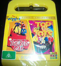The Wiggles Here Comes The Big Red Car / Top Of The Pops (Aust Region 4) DVD New