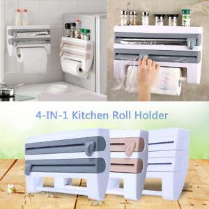 Wandrollenhalter Küchenrollenhalter Folienspender Wand Papierhalter Rollenhalter