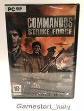 COMMANDOS STRIKE FORCE - PC COMPUTER - GIOCO NUOVO SIGILLATO NEW SEALED GAME