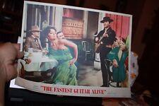 1967 Original Movie Lobby Card 7 Roy Orbison The Fastest Guitar Alive