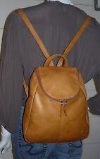 TIGNANELLO British Tan Leather Backpack/Purse
