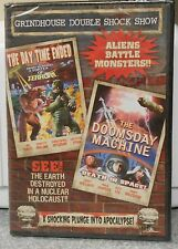 Grindhouse Double Shock The Day Time Ended/The Doomsday Machine (DVD, 2007) NEW
