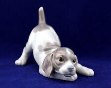 Lladro #1070 Playful Puppy Figurine Retired