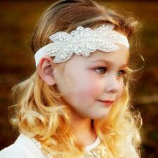 Women Flower Girl Hair Headband crown Wreath Garland Wedding Party Beach B$