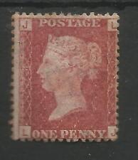 SG 43-4 QV 1858-79 1D Red Plate 174 (lj) BELLE MINT o inutilizzati CAT £ 45, vedi scansioni
