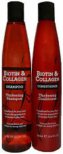 Biotin & Collagen Thickening Hair Shampoo & Conditioner-Superfood For Thick Hair