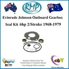A New Evinrude Johnson Outboard Gearbox Seal Kit 6hp 1968-thru-1979 # 87617