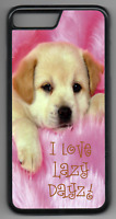 CUTE PUPPY QUOTE Phone Case Cover Hard Back iPhone 4 5 6 7 8 Plus X (D)