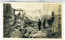 1906 Photo of Destruction to Buildings after San Francisco Earthquake