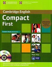 Cambridge Compacto primero Fce Paquete de libro del alumno: respuestas, Cd-rom + Cd De Audio @New @
