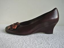 Gabor Fashion Brown Leather Shoe Size 5 1/2 Brand New in Box