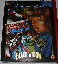 MARVEL LEGENDS  FAMOUS COVERS     BLACK WIDOW     MIB