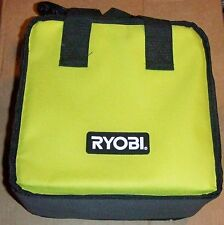 "RYOBI TOOL BAG 10""wide X 10"" high  X 6""  thick CANVAS FROM DRILL KIT"