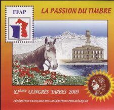 TIMBRE BLOC FFAP N°3  82 eme CONGRES TARBES  2009