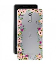 Coque NOKIA 3 Fleur 14 liberty rose transparent